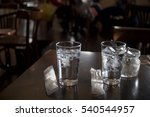 two glasses of water | Shutterstock . vector #540544957