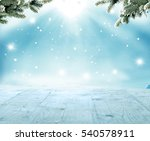 merry christmas and happy new... | Shutterstock . vector #540578911