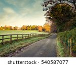 northern ireland countryside... | Shutterstock . vector #540587077