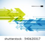 abstract background with...   Shutterstock .eps vector #540620317