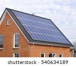 Solar Panels On Residential...