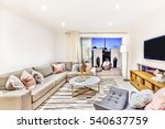 luxurious living room with... | Shutterstock . vector #540637759