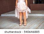 A Little Girl Wearing Mums...