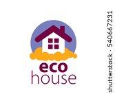 vector logo house | Shutterstock .eps vector #540667231