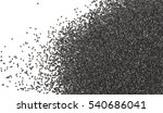 poppy seeds isolated on white... | Shutterstock . vector #540686041