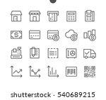 shopping pixel perfect well... | Shutterstock .eps vector #540689215