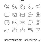 Stock vector communication pixel perfect well crafted vector thin line icons x ready for x grid for web 540689239