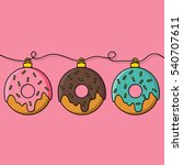 Donut Decoration For Christmas...