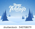 vector illustration  christmas... | Shutterstock .eps vector #540708079