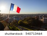 The Flag Of France On...