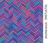 Vector Color Pattern. Geometri...