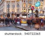 london  england   december 17 ...   Shutterstock . vector #540722365