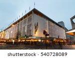 london  england   december 17 ... | Shutterstock . vector #540728089