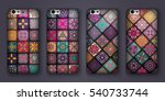 phone cover collection  boho...   Shutterstock .eps vector #540733744