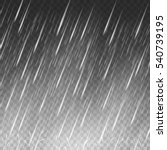 rain vector background. falling ... | Shutterstock .eps vector #540739195
