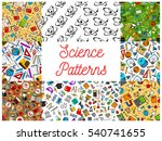 science seamless patterns.... | Shutterstock .eps vector #540741655