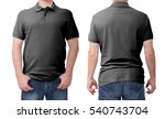 shirt design and people concept ... | Shutterstock . vector #540743704