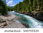 Middle Fork Flathead River In...