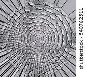 circular   curvilinear  ... | Shutterstock . vector #540762511