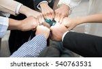 international business group... | Shutterstock . vector #540763531