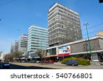 poznan  poland   april 30  2016.... | Shutterstock . vector #540766801