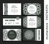 set of vector design templates. ...   Shutterstock .eps vector #540769291