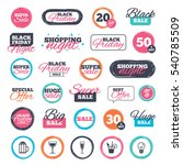 sale shopping stickers and... | Shutterstock .eps vector #540785509