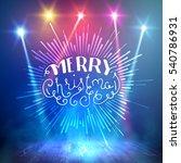 show background. merry... | Shutterstock .eps vector #540786931