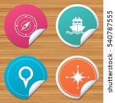 round stickers or website...   Shutterstock .eps vector #540787555
