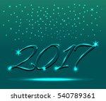 2017 happy new year  text...
