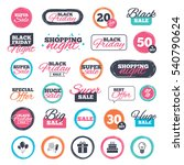 sale shopping stickers and...   Shutterstock .eps vector #540790624