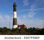 Fire Island Lighthouse With A...