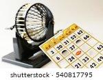 A Bingo Cage  Balls With...