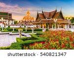 Wat Ratchanatdaram Temple In...
