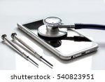 concept repair digital gadgets... | Shutterstock . vector #540823951