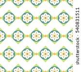 geometric ornament. carpet ... | Shutterstock .eps vector #540831511