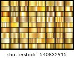 gold gradient background vector ... | Shutterstock .eps vector #540832915