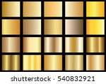 gold gradient background vector ... | Shutterstock .eps vector #540832921