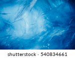 ice background  blue frozen... | Shutterstock . vector #540834661