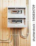 automatic fuses in electricity... | Shutterstock . vector #540834709