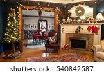 Interior Christmas Living  ...
