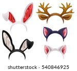Set Mask Cat  Rabbit  Deer...