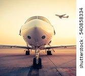jet plane   retro vintage... | Shutterstock . vector #540858334