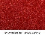 red glitter texture christmas... | Shutterstock . vector #540863449