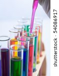 mixing carefully chemical... | Shutterstock . vector #54086917