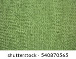 Green Knitted Texture.