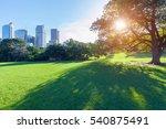sydney city botanical garden ... | Shutterstock . vector #540875491