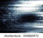 abstract digital sci fi... | Shutterstock . vector #540884971