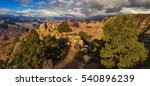 handsome rock formation in the... | Shutterstock . vector #540896239