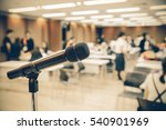 microphone soft focus on blur... | Shutterstock . vector #540901969
